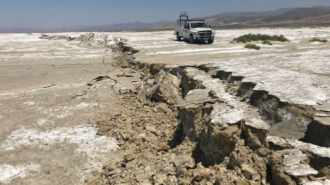 Navy Awards $737M for China Lake Airfield Repairs Following 2019 Earthquake Damage