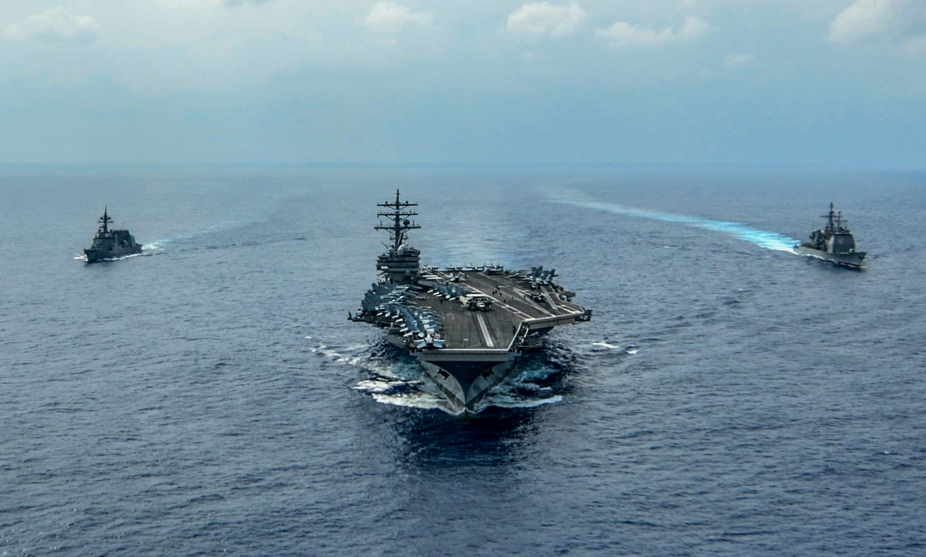US Strike Fighter Squadron – USS Ronald Reagan – Oct. 27 – 2019
