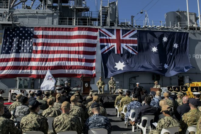 Official: Australia Committed to U.S. Partnership as Relationship with Beijing Grows More Complex