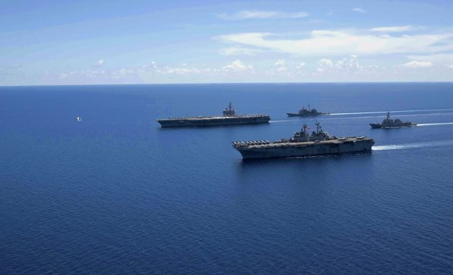 Report to Congress on U.S.-China Competition in the South, East China Seas