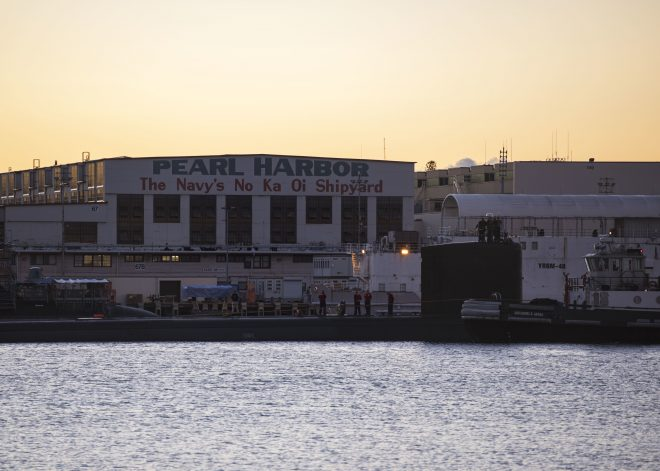 Submarine Sailor Dies by Apparent Suicide at Pearl Harbor Shipyard