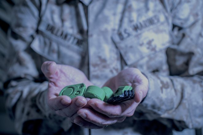Marines At Sea Leaning on 3D Print-to-Order Parts to Stay in the Fight