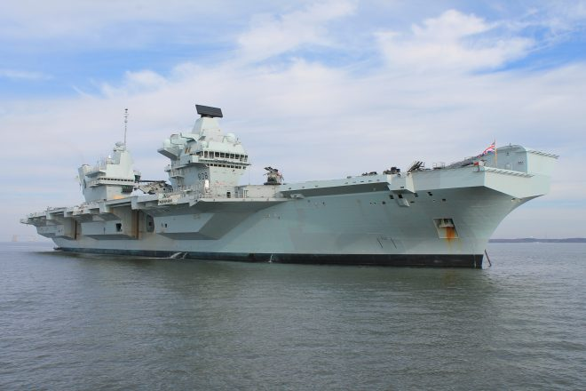 Royal Navy Intends HMS Queen Elizabeth to be Integrated into U.S. Carrier Operations