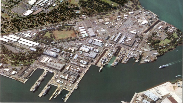 BAE Systems Pearl Harbor shipyard
