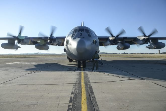 U.S. Navy P-8A to Assist in Search for Missing Chilean C-130