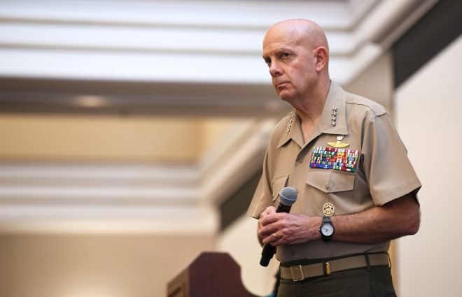 CMC Berger Wants to Retool Kit for Leaner, Lethal Marine Corps