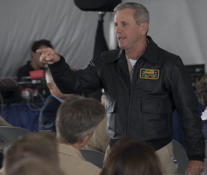 Navy Message Authorizing SWO Leather Jacket