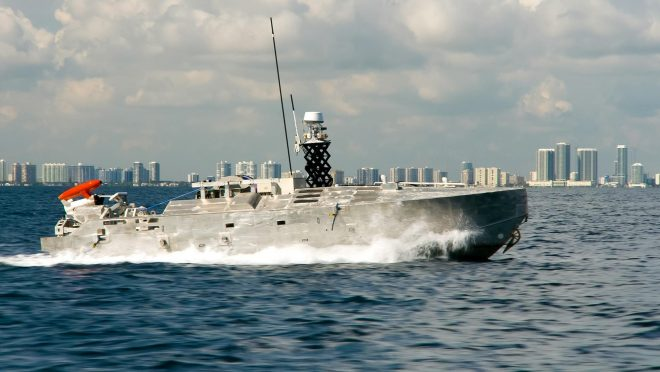 Textron's Common USV Ready for Production, Experimenting with Lethal Surface Warfare Payloads