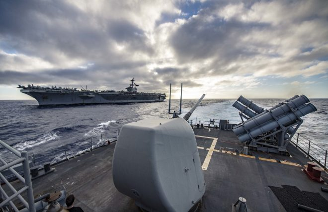 Carrier Lincoln Days Away From Longest Deployment Since Vietnam War; In Hawaii Now