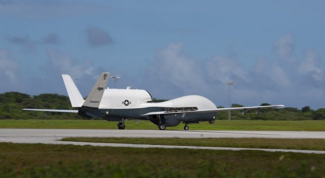 Navy Sending Two Guam-Based MQ-4C Tritons to Japan for Temporary Operations