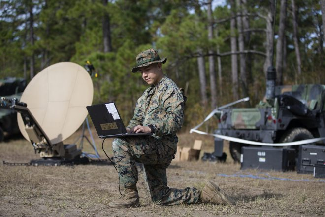 Marine Corps Information Community Growing in Capability, Trying to Find Its Place in Joint Operations