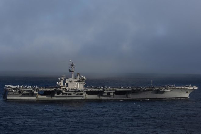 Carrier USS Theodore Roosevelt Leaves San Diego for Indo-Pacific Deployment