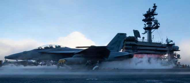 Theodore Roosevelt Super Hornet Crashes in Philippine Sea; Pilot, Weapon Systems Officer Safe