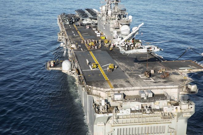 USS Bataan Enters Persian Gulf; Carrier Truman Now in the Mediterranean