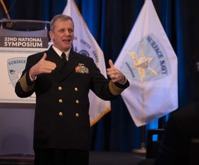VADM Brown Lauds Surface Readiness Reform and Oversight Council Drive for Ongoing Improvements