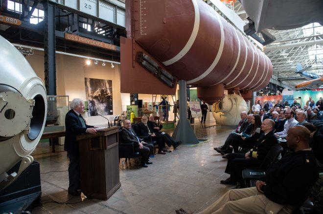 VIDEO: Navy Celebrates 60th Anniversary of Trieste Dive
