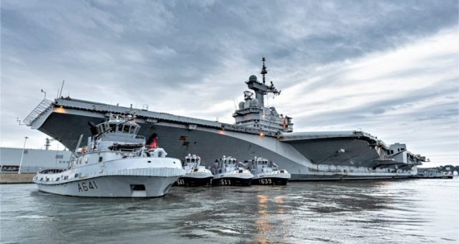 French Carrier Heading Home Early Amid Suspicion of COVID-19 Outbreak