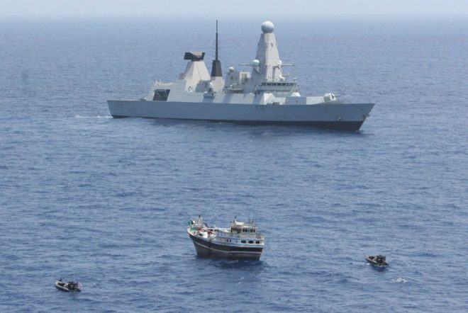 U.K. Royal Navy to Escort Tankers In Strait of Hormuz; U.S. Providing Intel