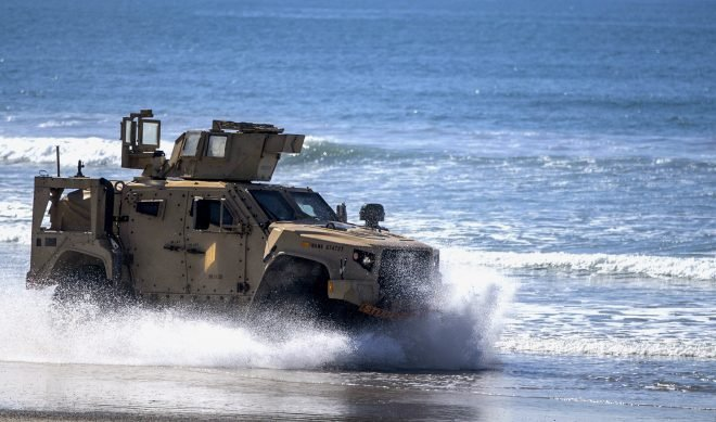 Marines Will Field Portfolio of JLTV-Mounted Anti-Ship Weapons in the Pacific
