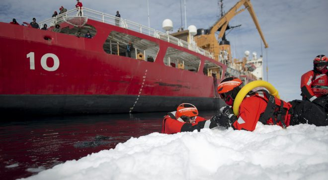 Coast Guard Icebreaker Polar Star Bound for the Arctic in December