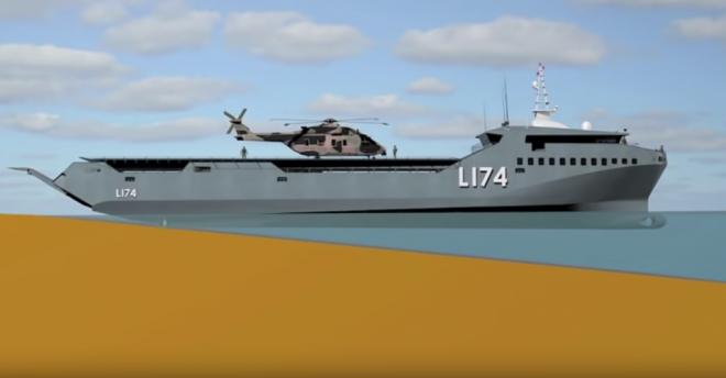 Navy Researching New Class of Medium Amphibious Ship, New Logistics Ships