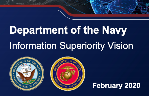 Department of the Navy Information Superiority Vision