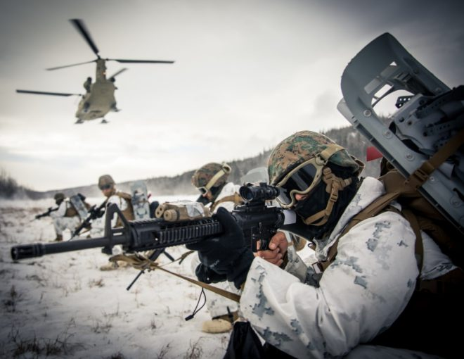 Navy, Marines Tell Congress Emphasis on Arctic is Growing