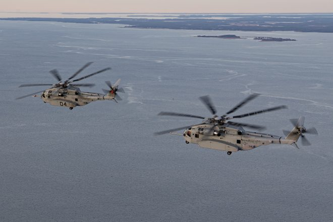 Marines Tout CH-53K Helo As Success Story After 'Technical Deficiencies' Forced Program Reset