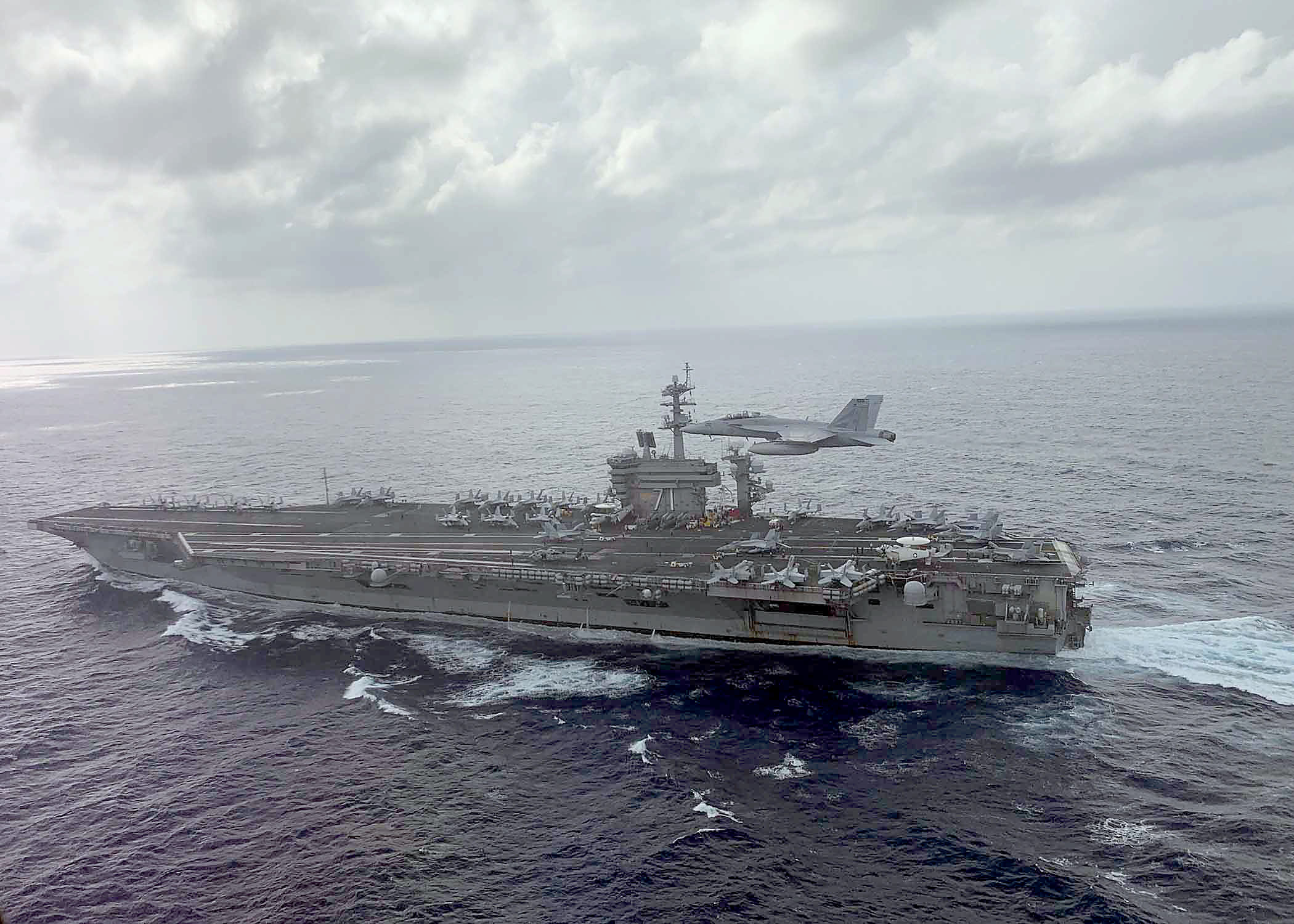 3 Sailors on USS Theodore Roosevelt Have COVID-19; Port Calls Canceled as Navy Investigates Outbreak