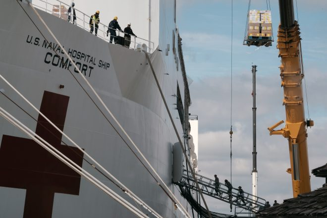 USNS Comfort Will Depart for New York on Saturday with Trump, Modly in Attendance