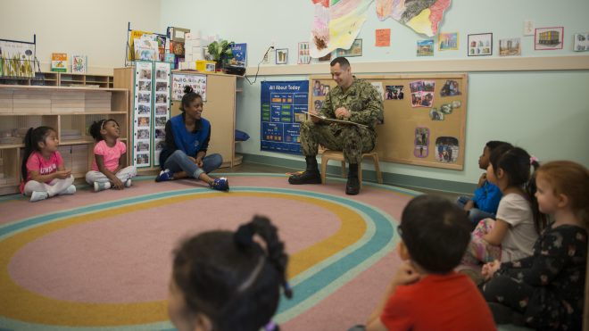 1,000 Coast Guard Dependents Could Lose Spots In DoD-Run Childcare Centers