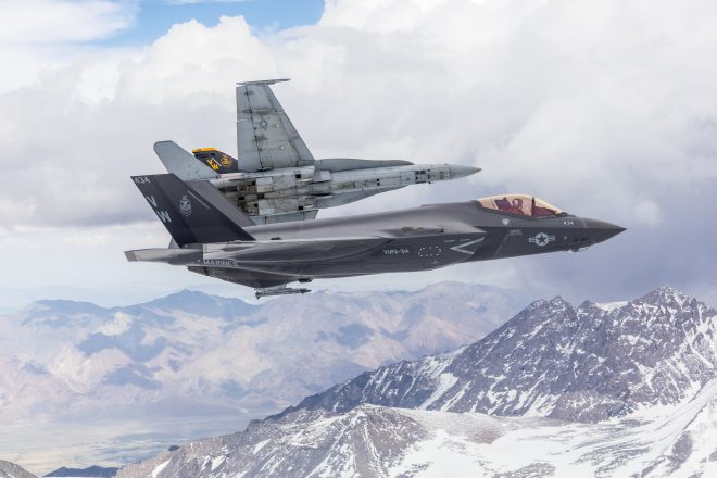 First Marine F-35C Squadron Certified Safe for Flight