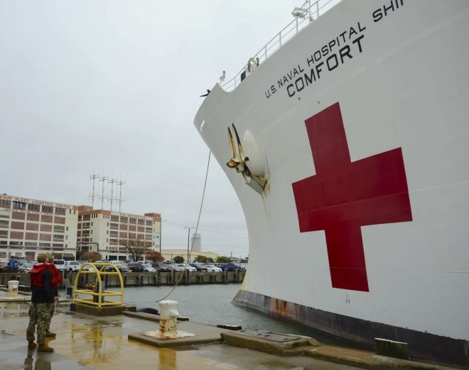 UPDATED: SECDEF Esper: Hospital Ship Comfort to New York in Less Than 14 Days