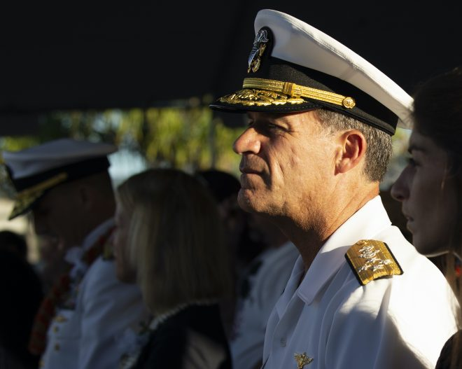 PACFLEET Commander Aquilino Adjusting to Operating Under Threat of Coronavirus