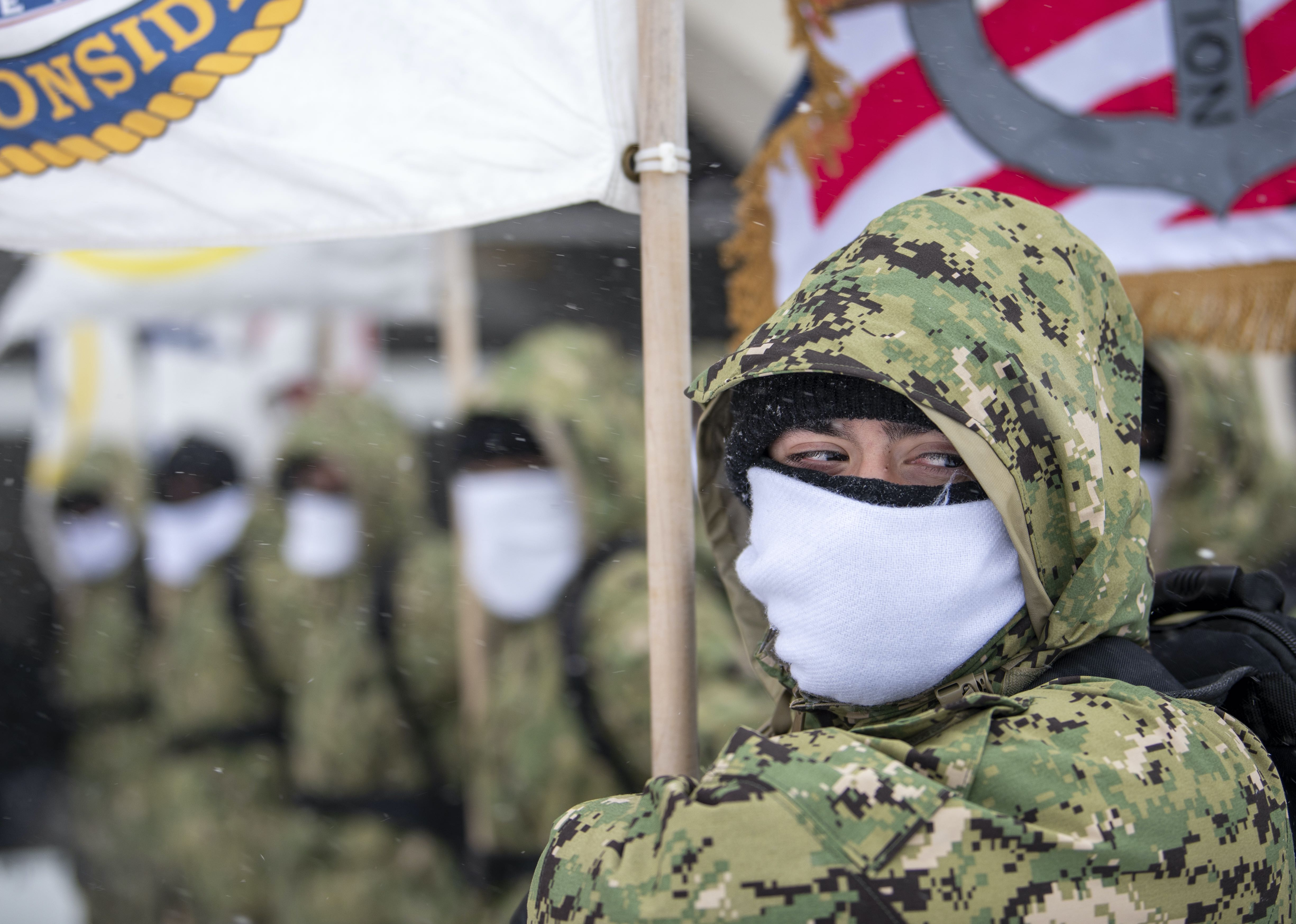Navy Recruit Tests Positive for