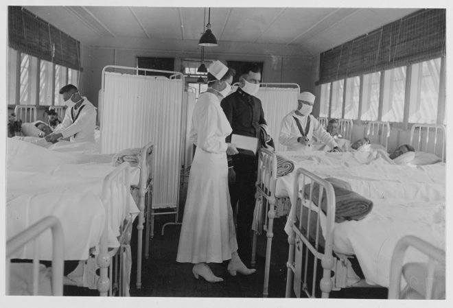 Navy, Marines Struggled With 1918 Influenza Pandemic