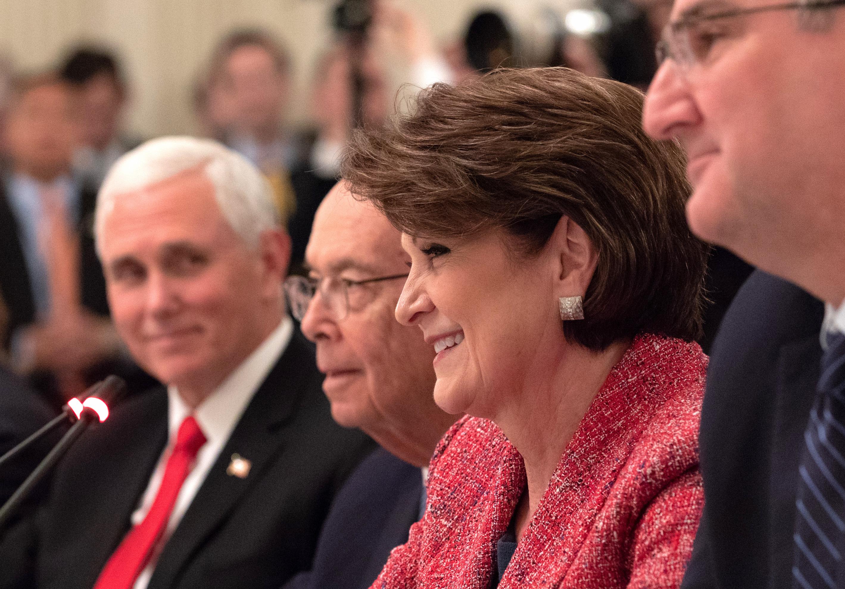 Marillyn Hewson Stepping Down as Lockheed Martin CEO - USNI News