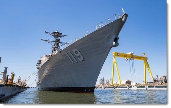 Future USS Delbert D. Black Completes Acceptance Trials After Damage Delay