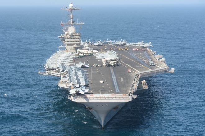 Truman Carrier Strike Group Will Stay at Sea to Avoid COVID-19 Infections