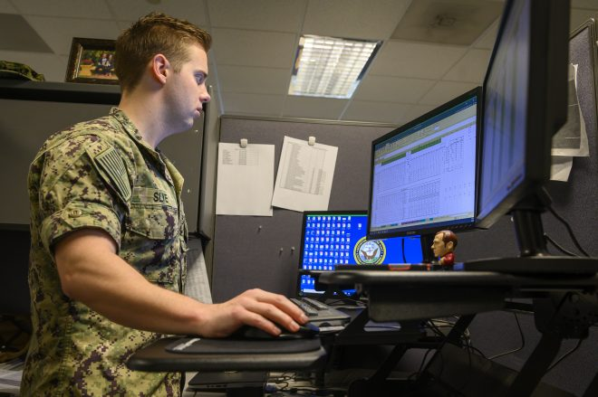 COVID-19 Pandemic Pushing Navy to 100 Percent Virtual Recruiting