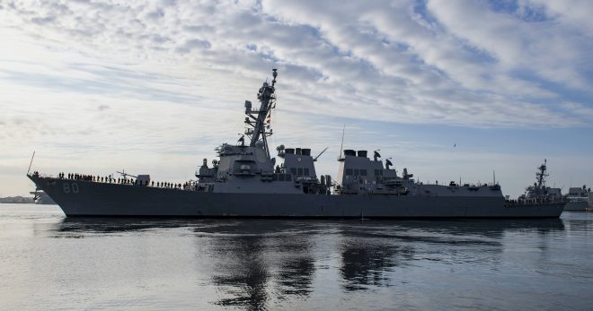 Destroyer USS Roosevelt Now in Europe, USS Porter Operating in Black Sea