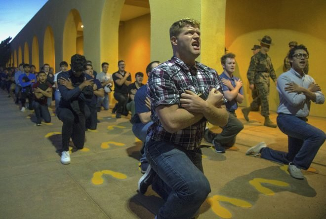 COVID-19 Threat Reshapes Marine Boot Camp; Celebrations Will Have to Wait