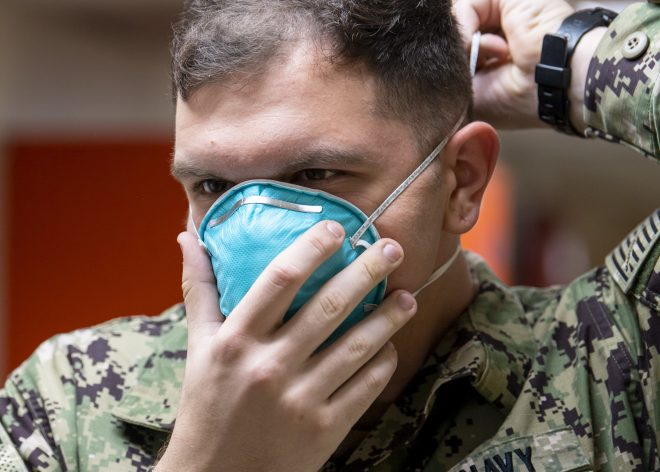 Navy Calls for Face Masks for All Military and Civilians on Base