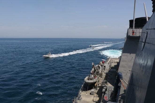 Navy Issues Iran Warning to Keep Away From Warships