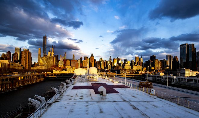 Trump: Hospital Ship USNS Comfort Could Leave New York City Soon