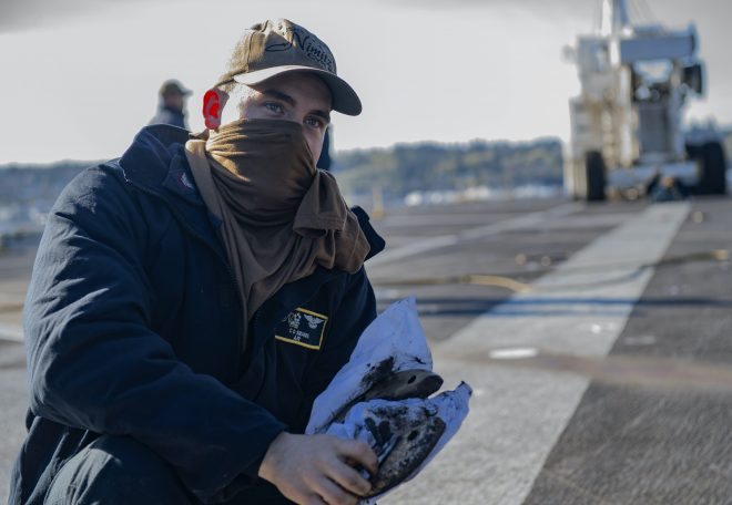 Navy Secures Enough COVID-19 Tests for Nimitz Strike Group Ahead of Deployment; Makin Island Completes Drills During Pandemic