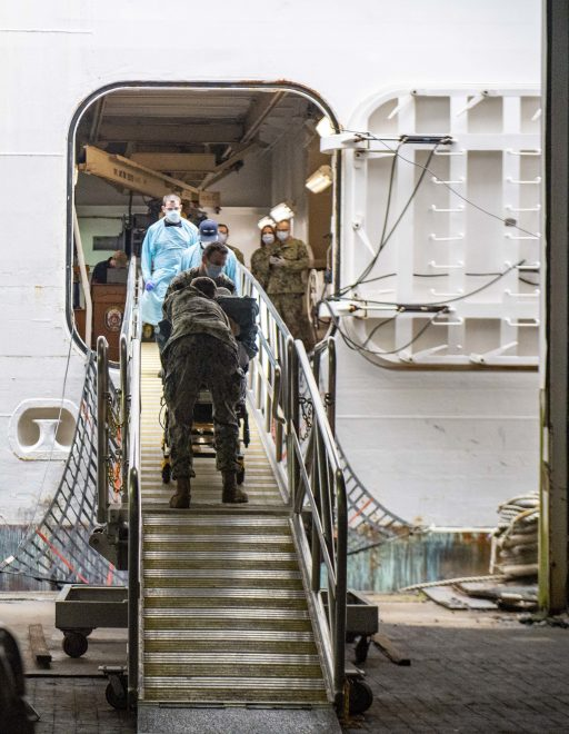 Hospital Ship Comfort Ends NYC COVID-19 Mission After Treating 182 Patients