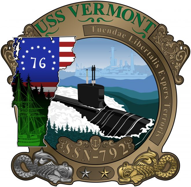 Navy Silently Commissions Nuclear Attack Boats USS Vermont, USS Delaware