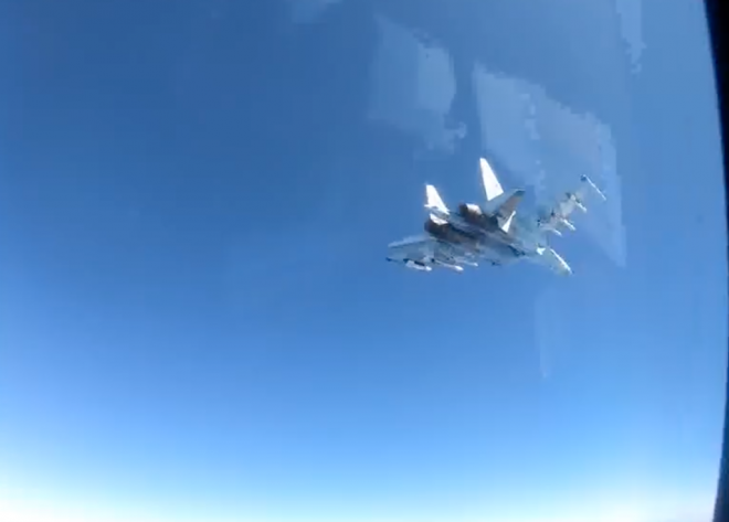 VIDEO: Russian Fighter Conducts 2nd 'Unsafe, Unprofessional' Intercept of P-8A