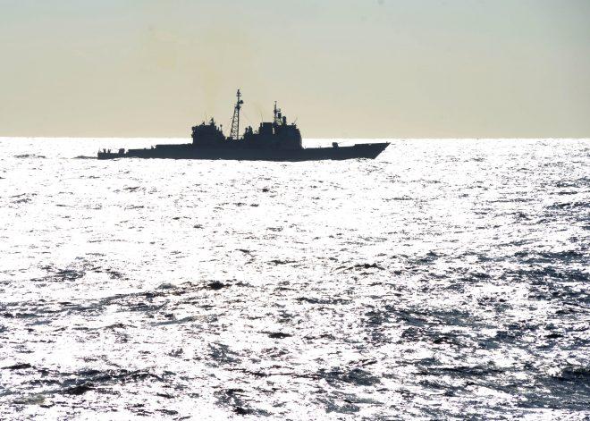 Cruiser USS Philippine Sea Spills Diesel Fuel Into York River